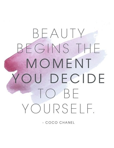 beauty quotes short