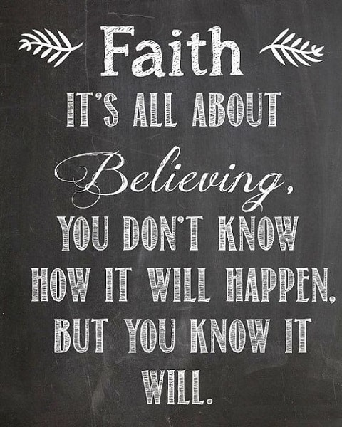 faith quotes with images