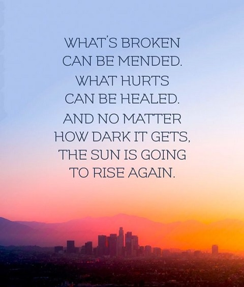healing quotes with images