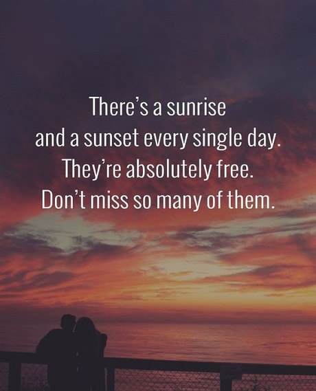 inspiring sunset quotes