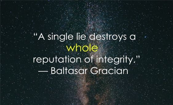 integrity sayings quotes