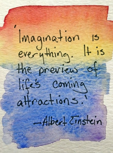 law of attraction quotes einstein