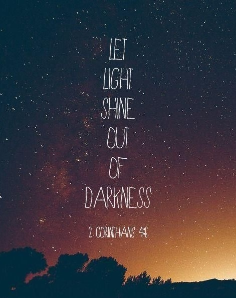 light quotes from the bible