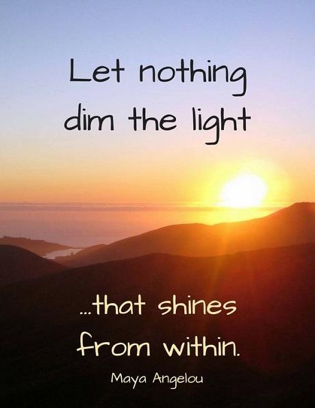 light quotes inspirational
