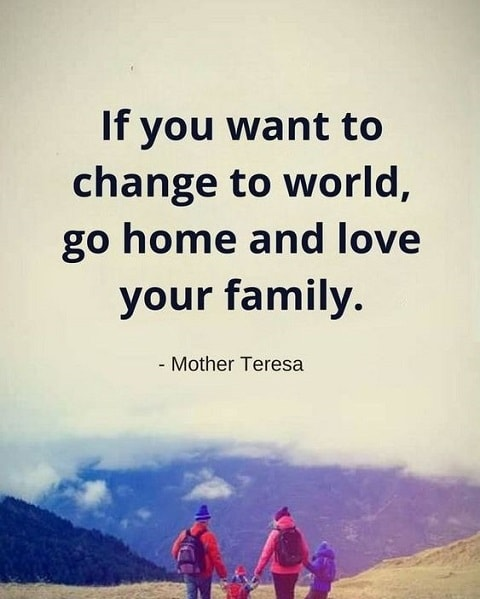 mother teresa quotes about family