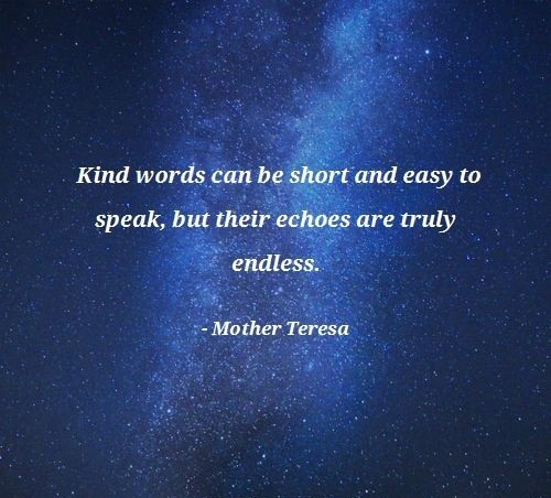 mother teresa quotes kindness