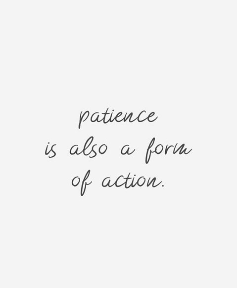 patience life quotes