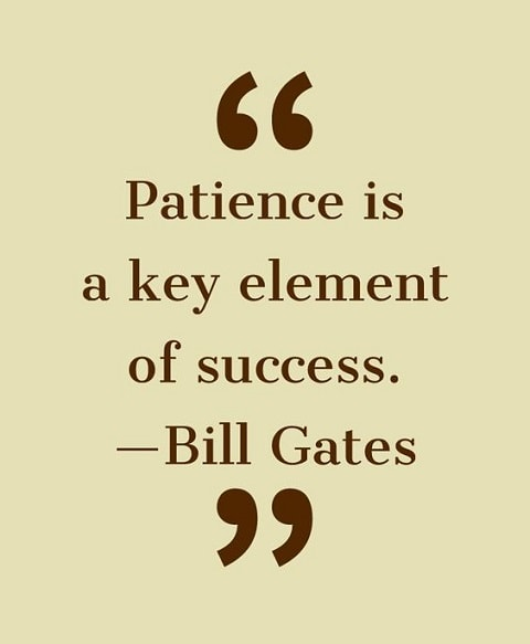 patience motivational quotes