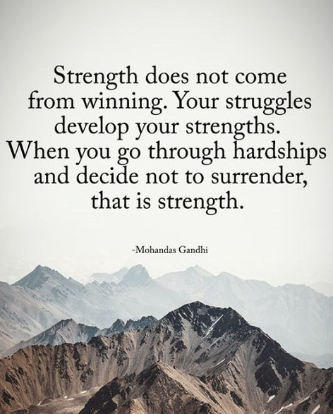 quotes about being strong alone