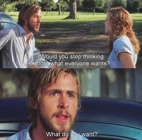 the notebook quotes what do you want