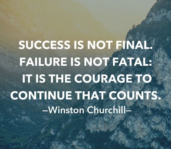 winston churchill quotes on success