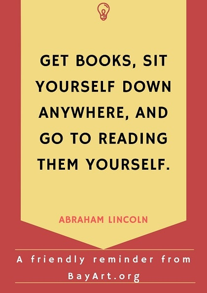 abraham lincoln quotes about books
