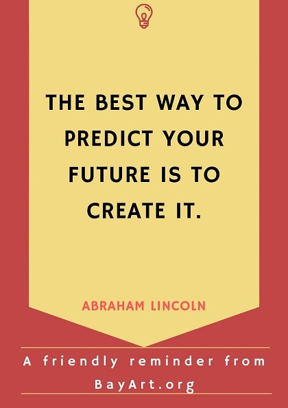 abraham lincoln quotes on future