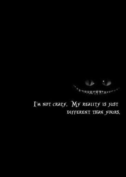 alice in wonderland quotes reality