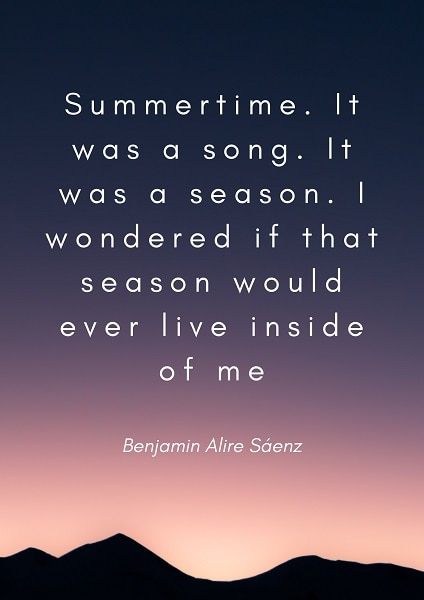 summer days quotes