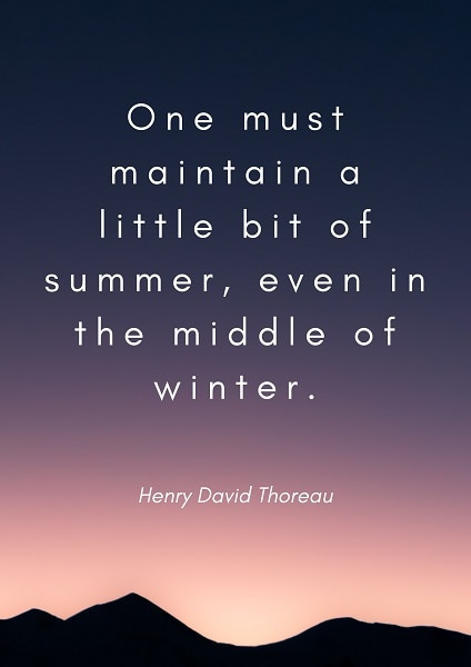 summer quotes inspirational