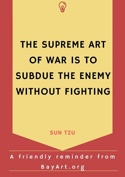 sun tzu quotes the art of war