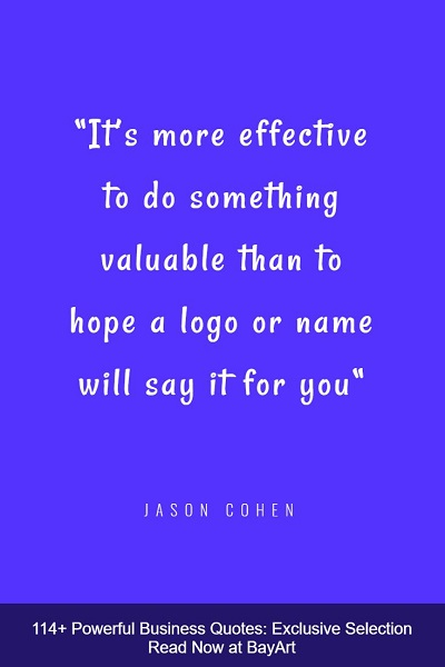 best quotes about business
