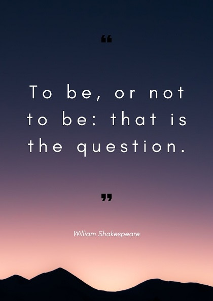 william shakespeare quotes and sayings