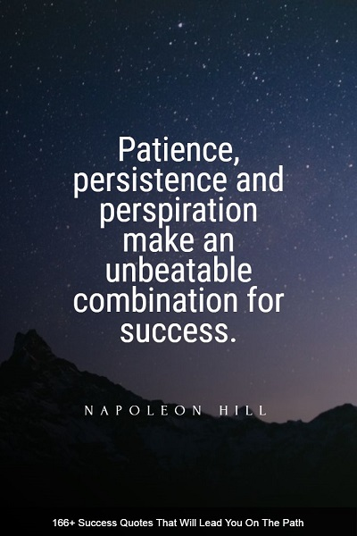 best quotes and sayings about success