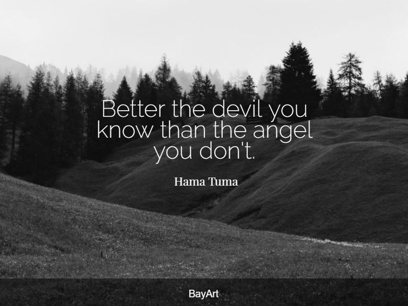 inspirational devil quotes