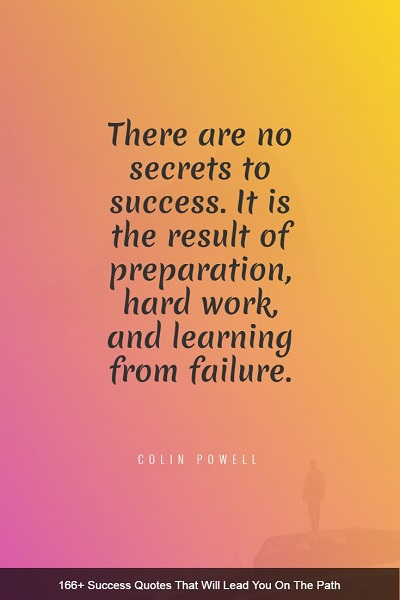inspirational quotes and sayings about success