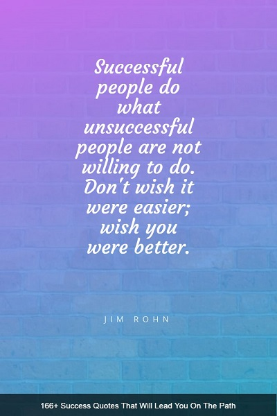 motivating sayings about success