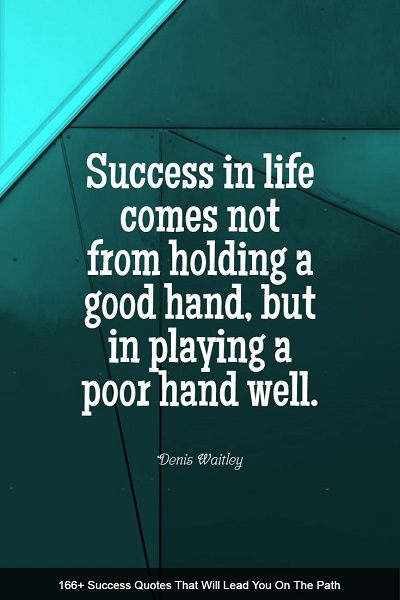 motivational success quotes and sayings