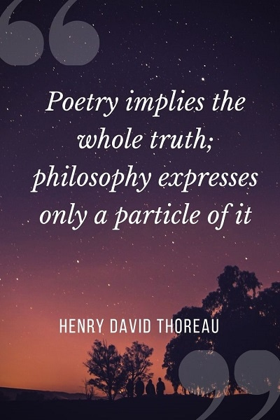 poets quotes about poetry