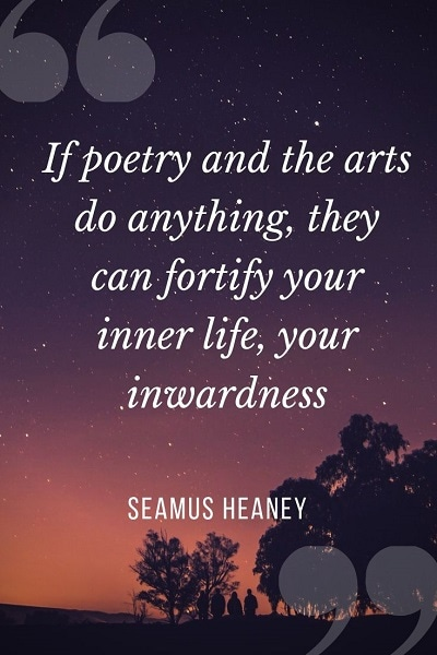 quotes about poems by famous poets