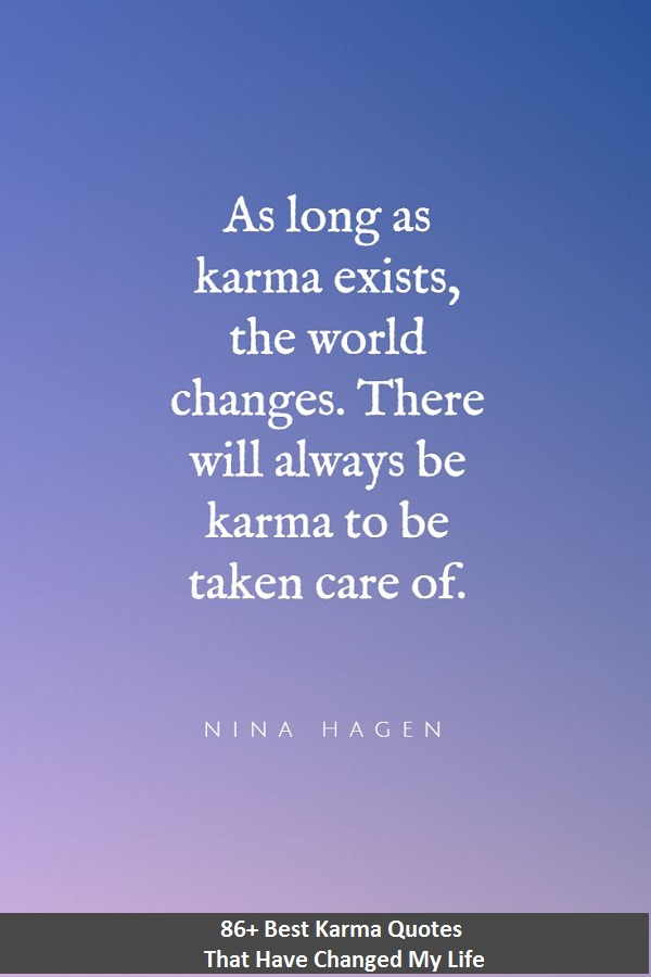powerful karma quotes