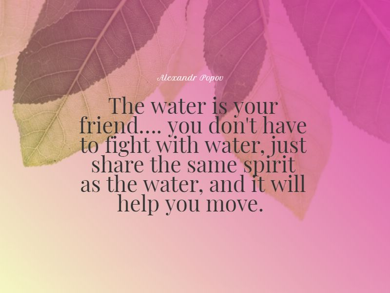 powerful swimming quotes