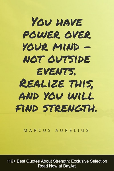 strength quotes for a little inspiration