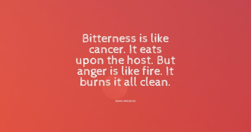 bitterness quotes