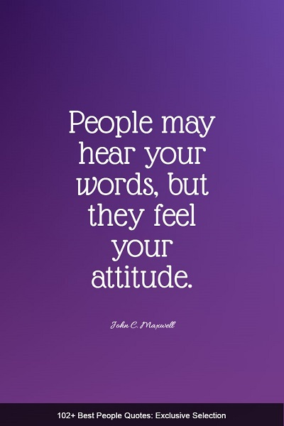 famous quotes and sayings about people