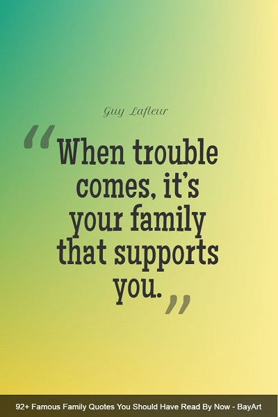beautiful quotes and sayings about family