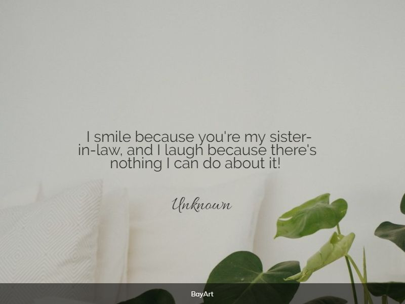 beautiful sister in law quotes