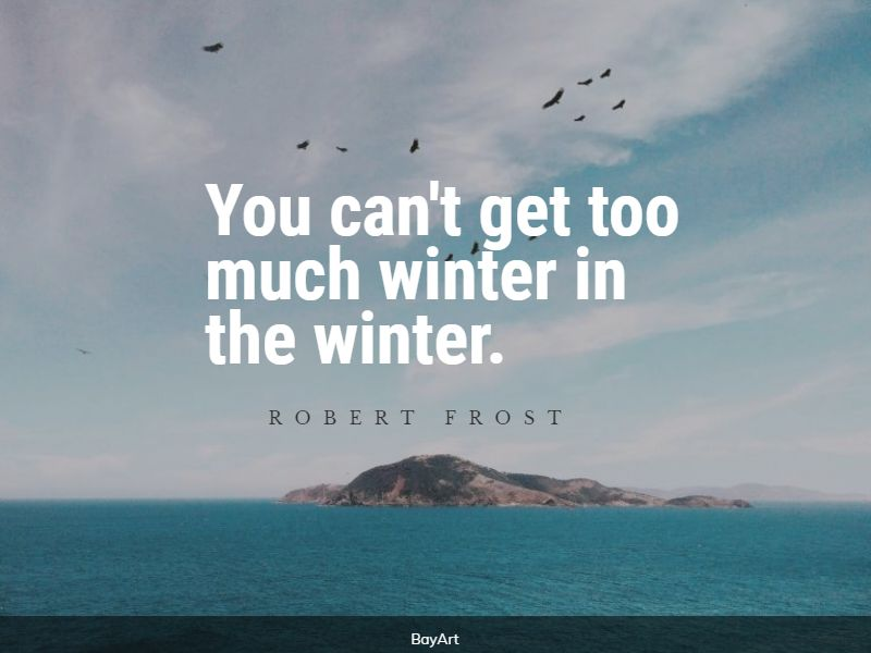 empowering cold weather quotes