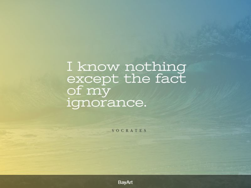 famous ignorance quotes