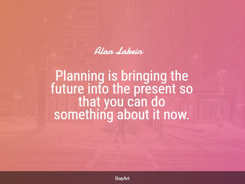 famous planning quotes