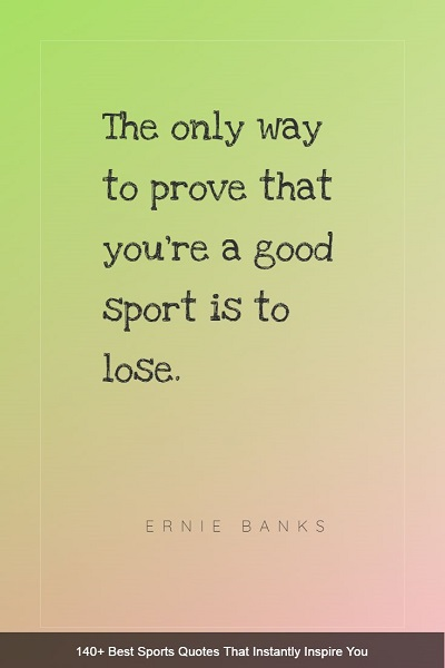 inspirational sports quotes and sayings