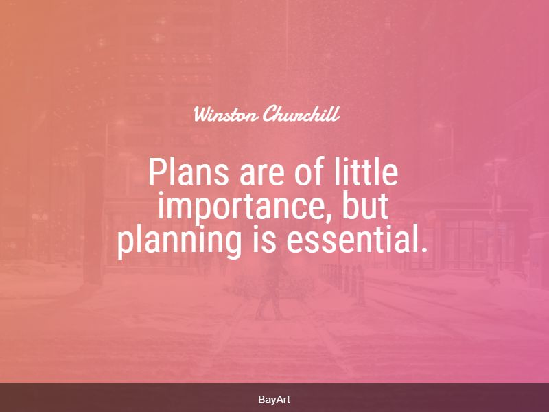 inspiring planning quotes