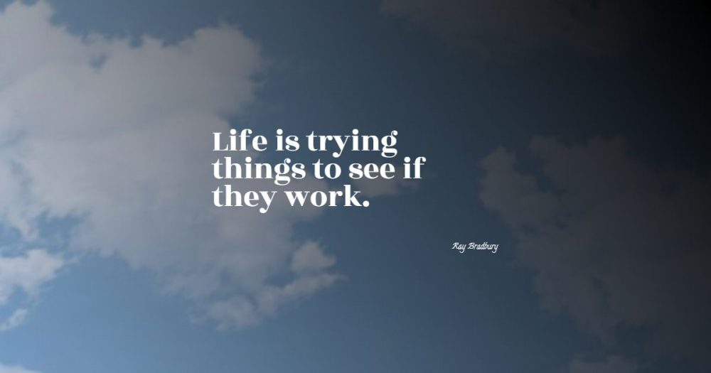 life is what you make it quotes