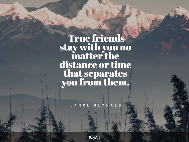 beautiful long distance friendship quotes