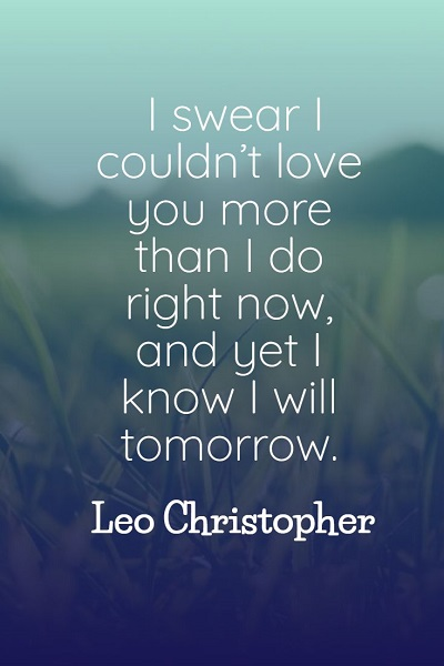 most famous love quotes for him from the heart