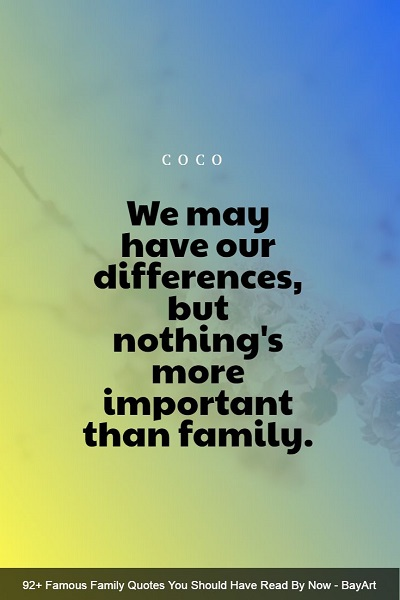 motivational family quotes and sayings