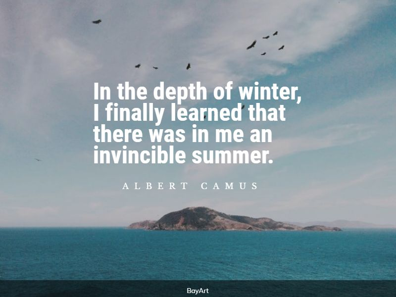 popular cold weather quotes