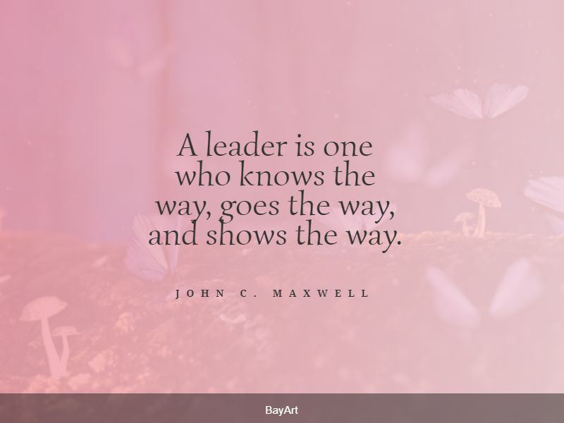 popular leadership quotes