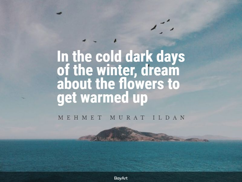 powerful cold weather quotes