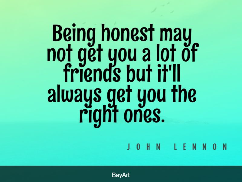 powerful honesty quotes